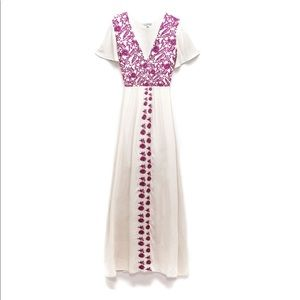 ASTARS Punta Cana Maxi Dress NWT Embroidered Large